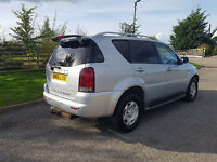 2006 56 SSANGYONG REXTON 2.7TD RX270 4X4, LOW MILES, TOW BAR , PX WELCOME
