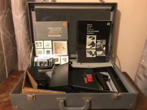 Kodak instatic X-35 with a Kodak Ektagraphic visual maker model