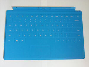 NEW Microsoft Surface RT Keyboard Touch Cover - BLUE > BRAND NEW
