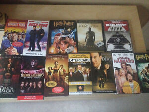 VHS Tapes / DVD's , brand new , most never watched