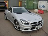 2014 63 MERCEDES-BENZ SLK 2.1 SLK250 CDI BLUEEFFICIENCY AMG SPORT 2D AUTO 204 BH