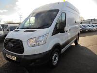 Ford Transit 2.2 Tdci 125Ps H3 Van DIESEL MANUAL WHITE (2016)