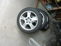 BMW 3 SERIES E46 WINTER SNOW TIRE PACKAGE