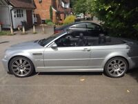 BMW M3 convertible, 2004, E46, 3.2, great condition