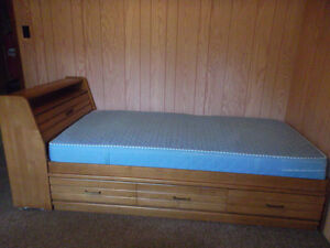 Captain bed - Single Bed