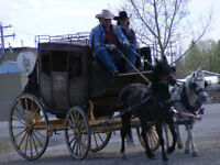 Stagecoach 1800's style