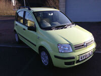 54 reg Fiat Panda 4 Door 1.2 Lime Green