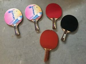 For Sale: 5 Ping Pong Paddles