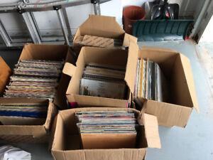 Vinyl Records + 45s