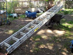 1, left. 24ft. extension ladders for sale