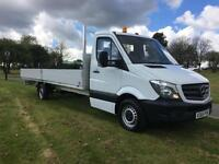 2016 Mercedes Sprinter 313 3.5T 20ft Dropside **Extra Long** 6 M. Load Length
