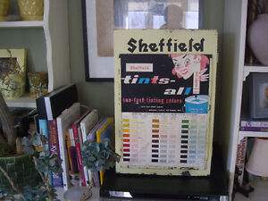 COMMERCIAL RETRO SHEFFIELD TINTS COLORS ,METALCABINET FOR DVD,CD