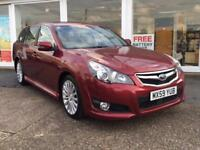 Subaru Legacy 2.5i NavPlus Sports Tourer Lineartronic 2010MY SE RED METALLIC