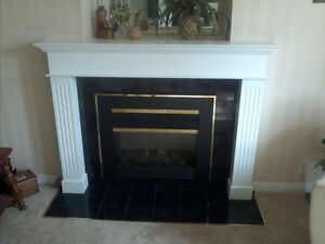fireplace mantle/surrond