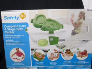 Safety 1st Complete Care 4 Stage Bath Center - Great Condition