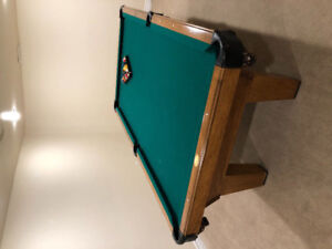 Olhaussen Pool Table- $1500