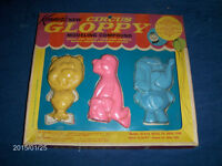 KENNER'S NEW CIRCUS GLOPPY-MODELING COMPOUND-1962-VINTAGE!
