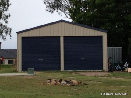 SHEDZONE   Garage / Shed 6.0x6.0x2.4 Priced to Sell!!
