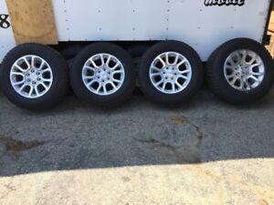 PNEUS/ GMC MAGS- 4 Bridgestone P265/65R18