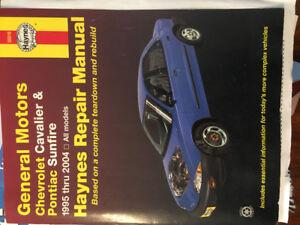Haynes Manual 1995 - 2004 Cavalier / Sunfire
