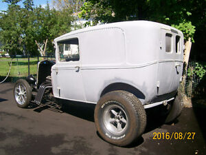 1930 Ford Model-A Hot Rod project car