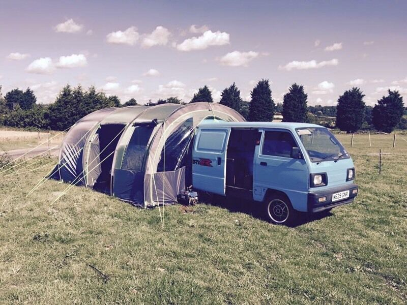 Suzuki supercarry dayvan/camper conversion