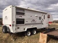 24' Fifth Wheel with Bunk Beds