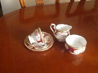 Royal Albert China tea set.