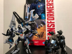 Transformers Age of Extinction Combo Pack, 12 inch Autobot Drift
