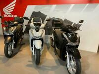 New Honda SH 125 Scooter 2021 with Smart Keyless Top Box