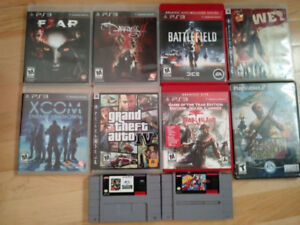 PS3 and Nintendo Games