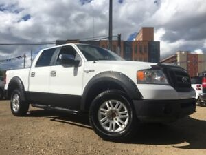 2007 Ford F-150 KING RANCH = CREW CAB = DUAL EXHAUST