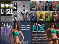 21 Day Fix Régulier -21 Day Extreme -Cize-- Hammer and Chisel