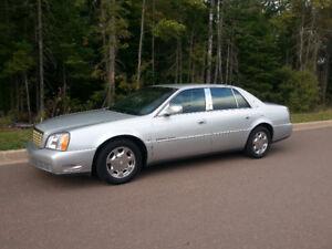 ** 2001 Cadillac DeVille V8 Sedan for sale **