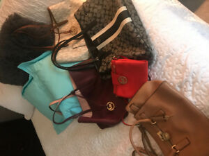Michael Kors and Coach bags for sale