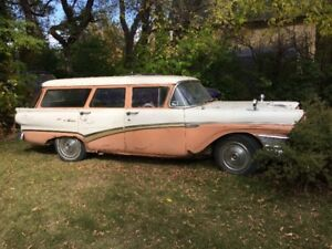 Ford wagon buy or sell classic cars in canada kijiji classifieds 1957 meteor wagon daily driver sciox Gallery