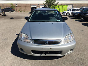 1999 Honda Civic Sedan, CERTIFIED, E TESTED, WARRANTY