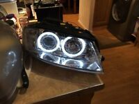 NEW Audi A3 8p headlights original Halo/Angel DEPO, projector, Xenon rings