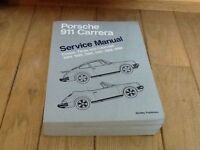 Work shop manual for 911 Porsche