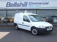 Vauxhall Combo 1.7CDTi, 2012, White, Only 61826 Miles.