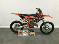 2018 KTM 150SX Only 19.5 Hours, FMF Fatty Pipe, Shorty Silencer, SX150 MX 150cc
