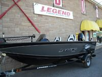 New 2014 Legend 16 XGS, 2006 40 4 stroke & Trailer