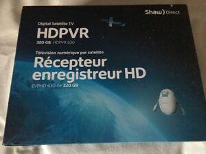Shaw HDPVR with satillite dish complete