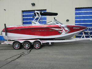 2015 Nautique Super Air G25 - Supercharged 550 only 46 hours!