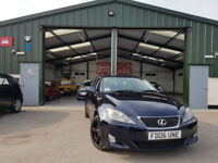 2006 Lexus IS 220d 2.2TD Multimedia MANUAL DIESEL NEW SERVICE FINANCE AVAILABLE