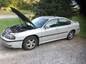 2003 impala rostered underneath runs and drives 400 firm