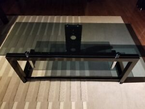 Tv/Audio Glass and metal stand