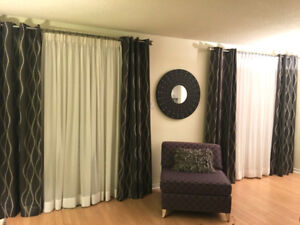 DRAPES / WINDOW TREATMENTS