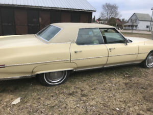 1973 CADILLAC DEVILLE FAMILY OWNED 25 YEARS