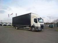 2014(14) DAF TRUCKS LF220 DAY CAB CURTAINSIDE.....EURO 6......76000KMS